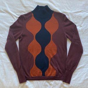 UNIQLO x Marimekko wool-blend mock turtleneck